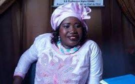 Elections Communales et Communautaires  en Guinée : Mama Tady  sur la Liste du RPG-Arc- En Ciel  à Matam