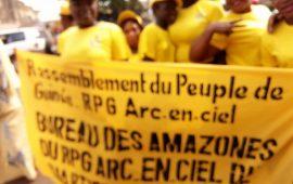Elections Communales et Communautaires : Les Amazones du RPG Arc –En Ciel  mobilisées pour la victoire du parti