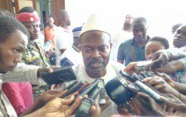 Conakry : Said Fofana rencontre   le Président  de l'Assemblée Nationale