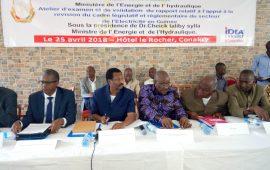Conakry : Tenue d'un atelier sur  le cadre législatif et réglementaire du secteur d'énergie