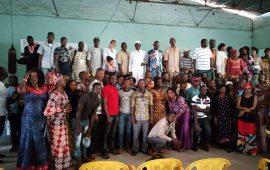 Prévention de la paix en guinée: Des jeunes Ambassadeurs de la paix des 5 Communes s'impliquent