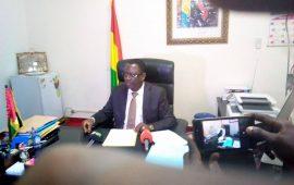 Guinée : Interdiction des activités   de la pêche industrielle  par le Ministre FREDERIC LOUA
