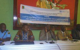 Droits de l'Homme : Les forces de défense et de  sécurité  s'engagent à lutter contre la torture en Guinée