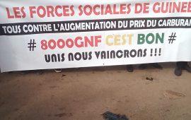 Prix du Carburant à 10.000 GNF : Les Forces sociales  de Guinée  ont telle affiché  leur  incompetence  ?
