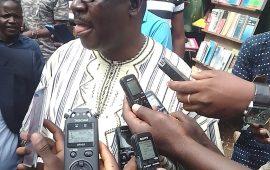 Crise de la cour constitutionnelle : Dr  Faya Milimono et  certains leaders  de la société Civile  Guinéenne  violemment  dispersés  par des  forces de l'ordre