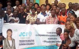 Coyah: une centaine de jeunes bénéficient d'une formation organisée par la  JCICA