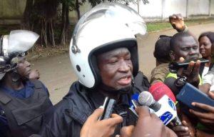 Conakry : Le Colonel Bafoué explique les  raisons par rapport   au   Confinement  du  Chef de Fil de l'opposition