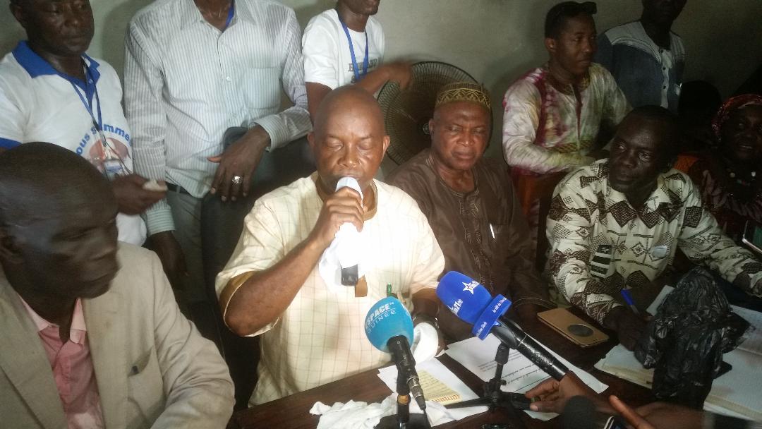 Grève des Enseignants : « Comme ils font une violation flagrante de la loi, nous aussi nous allons violer les principes de négociation », déclare  Aboubacar Soumah