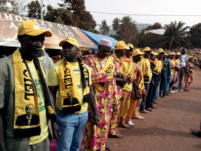 Conakry : Les militants du  RPG manifeste ce mercredi pour soutenir leur Président