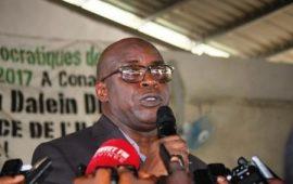Dr Fodé Oussou  Fofana  à Alpha Condé « Aucun Président  ne peut accepter qu'on massacre sa population   »