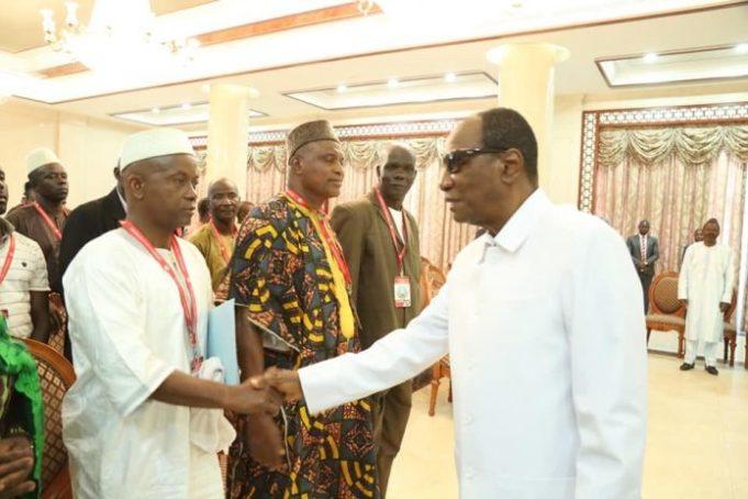 Éducation: des émissaires du président reçus par Aboubacar Soumah…