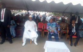 Kaloum : Des épouses des militaires organisent une cérémonie pour la paix et l'unité nationale  en Guinée