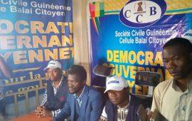 Eventuel troisième mandat d'Alpha Condé: La Cellule Balai Citoyen-Guinée s'oppose à toute violation flagrante de la constitution