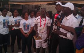 Conakry: La jeunesse de la mosquée  Bonfi Routière  organise un Gala de football pour   manifester leur    soutien aux   idéaux  du président Me Abdoul Kabélè Camara