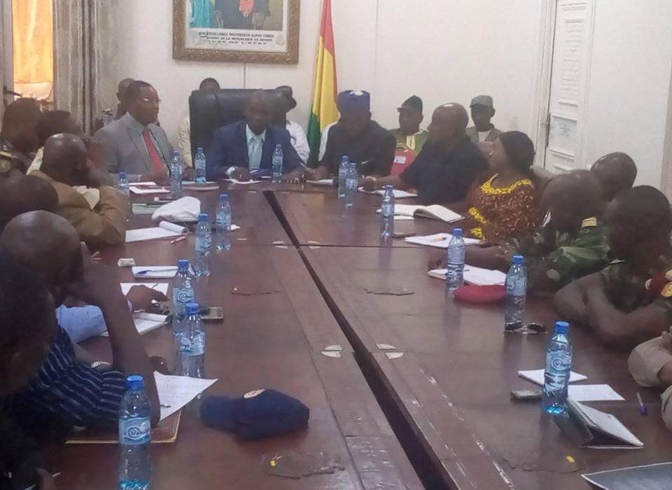 Conakry : Tenue d'une réunion de réflexion  sur   la sécurité maritime