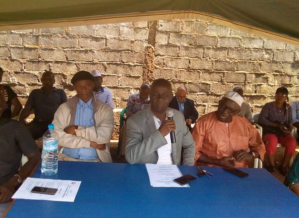 Treizième Assemblée Générale du RGD : La Forêt réitère son engagement à soutenir les idéaux du président Me Adoul Kabélè Camara  à travers le   projet de société de son  parti