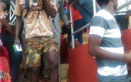 Humanitaire: la Fondation Pr Alpha Condé pour l'Humanitaire   au chevet  de l'ancien Footballeur Guinéen  Mamady Kaba dit Dieng