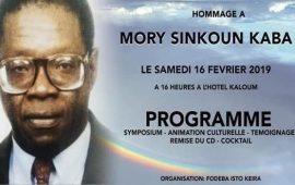 Conakry: ISTO Keira organise un Symposium pour rendre hommage à Mory Sinkoun Kaba