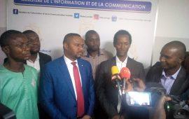 Conakry : Le Nouveau Bureau Exécutif de l'AGEPI officiellement présenté au  Ministre Amara SOMPARE