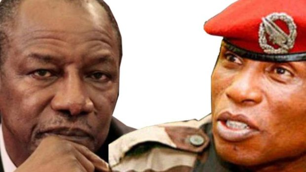 Ouagadougou : Dadis Camara exprime son « soutien » à Alpha Condé