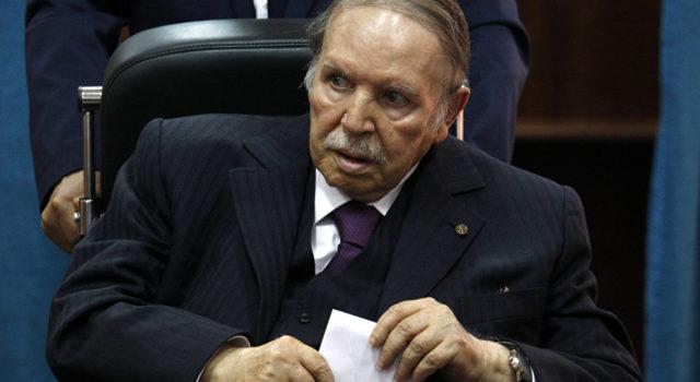 Le  message d'au revoir de  Bouteflika aux Algériens