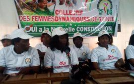 Nouvelle constitution : Le collectif des femmes Dynamiques de Guinée s'engage
