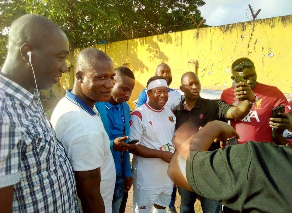 Sport : Aboubacar Bôbôdi  Camara, Organise un match de Gala pour renforcer l'unité, l'entente et la cohésion entre les fils de Kaloum