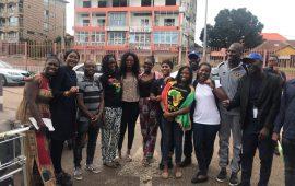 Aéroport Conakry -Gbessia : Réception Des  bénéficiaires de la Session 16 des Alumni Yali  Dakar de Guinée
