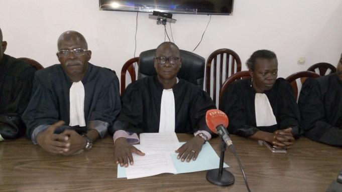 Crise politique en Guinée : Le Barreau de Guinée brise le silence