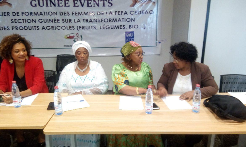 Conakry : La FEFA CEDEAO Section/Guinée Organise une formation de deux (2) jours à l'intention des femmes entrepreneures