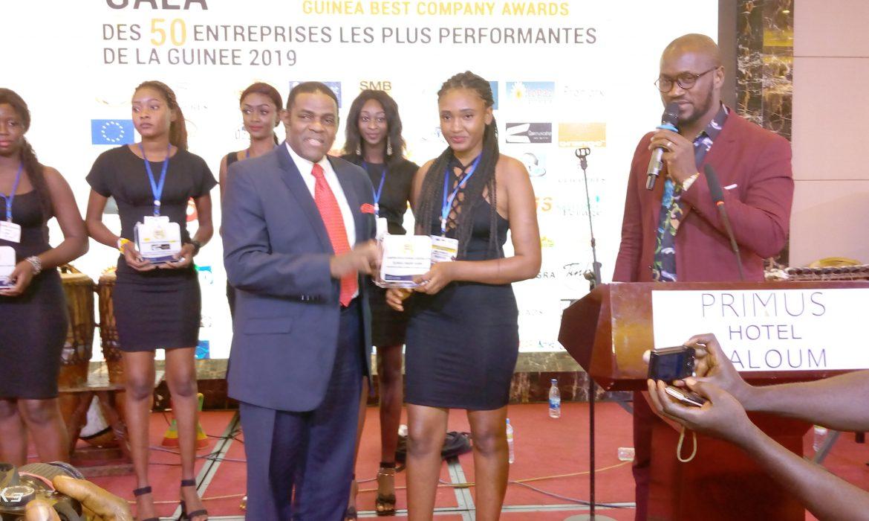 Cope-Guinée : le président du CNP-Guinée, El Hadj Mohamed Habib Hann, parmi les  Champions d'or de l'économie Guinéenne 2019