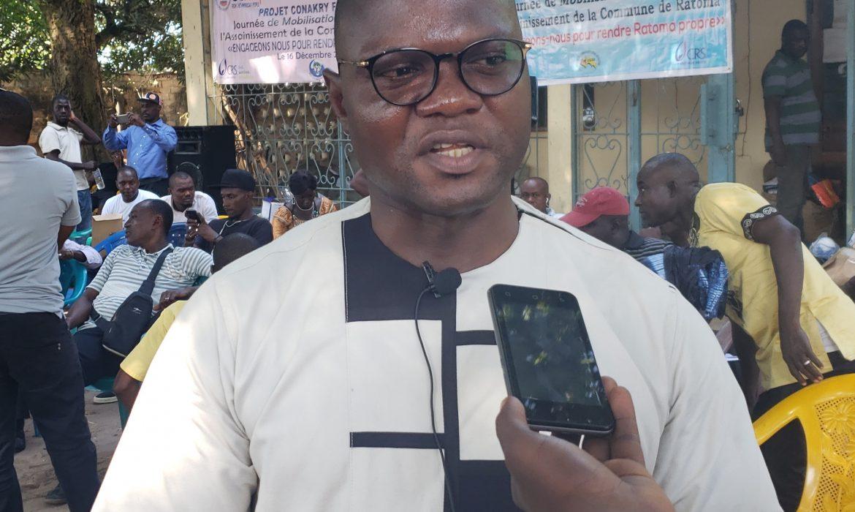 Assainissement de la Ville : Remise de kits de travail aux PME par l'OCPH en collaboration avec le projet ''Conakry FENTENYI''