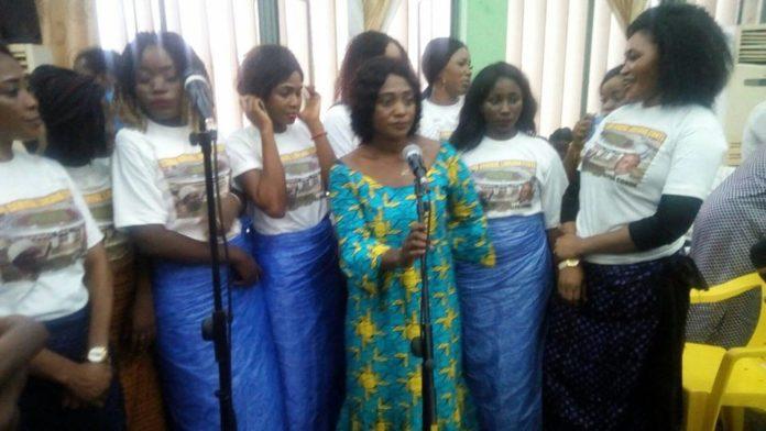 L'Union des jeunes filles pour la paix et de développement remercie le Pr Alpha Condé pour avoir Baptiser le nom du stade de Nongo au feu Général Comté