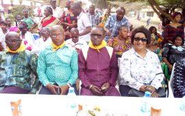 Elections Législatives du 16 février 2020 : Les femmes de Coronthie apportent leur soutien au candidat Uninominal  du RPG à  Kaloum
