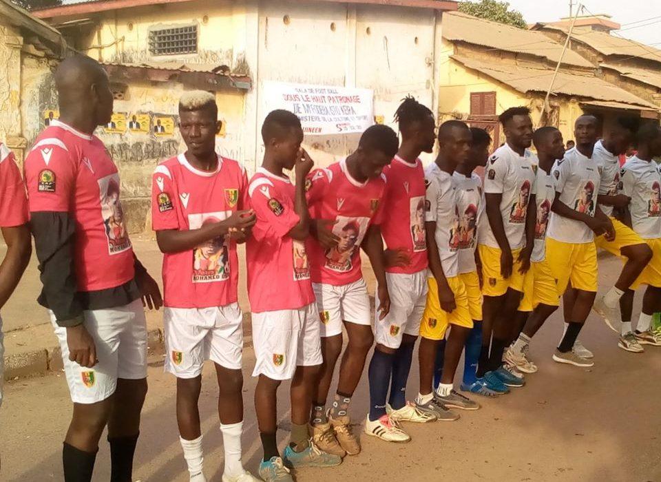 Kaloum : La jeunesse de Boulbinet organise un ''Gala''  de football pour Soutenir le Candidat Uninominal du RPG  Mohamed Diop