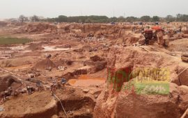 Siguiri: 4 personnes trouvent la mort dans l'éboulement d'une ancienne mine de la SAG