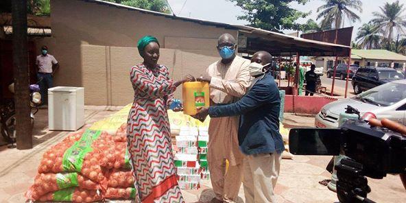Conakry : La Fondation KPC pour l'Humanitaire  accompagne  des journalistes en ce mois saint de Ramadan