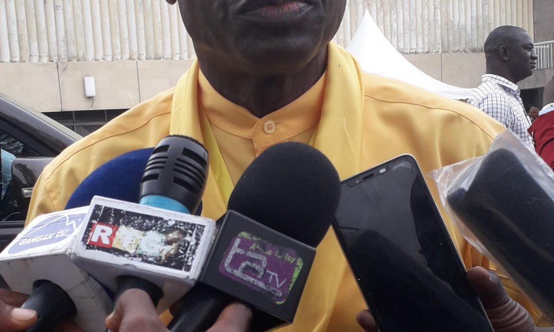 Convention Nationale du RPG Arc- En-Ciel: Le porte parole de la Région de Boké  sur le bilan du président Alpha Condé