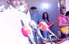 Conakry :Le nouveau président des Orpailleurs de Guinée investi dans ses nouvelles fonctions