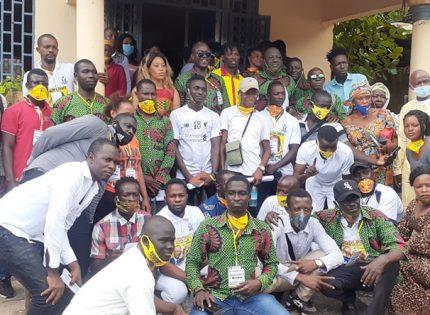 Dubréka : La CODCPAC Multiplie les efforts sur le terrain en faveur du candidat Alpha Condé