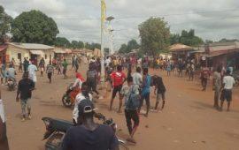 Conakry :Des violences enregistrées  à Matam ce matin