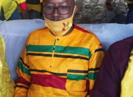Mohamed Lamine Sy SAVANE : le Jeune Directeur de campagne qui a plus mouillé le maillot pour la victoire d'Alpha CONDÉ en 2020