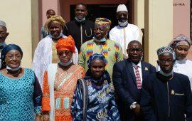 Clôture de la Deuxième Session ordinaire du CESEC: le président du CNP-Guinée El Hadj Mohamed Habib Hann, offre des Assurances aux Conseillers