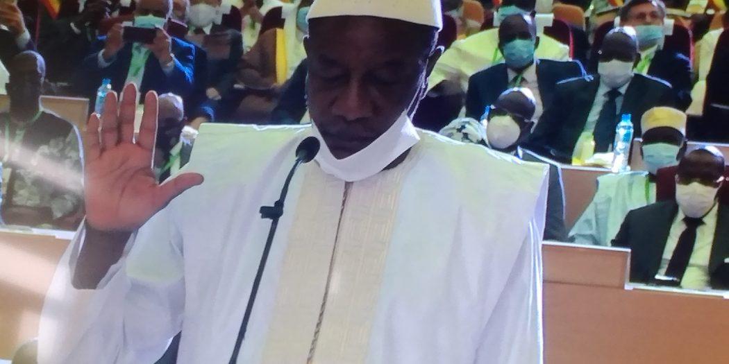 Guinée/Investiture : Alpha Condé a prêté serment pour un nouveau mandat à la tête du pays