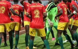CHAN 2020: La Guinée écrase la Nambie sur le score de 3 buts à 0
