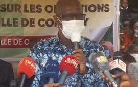 """Opérations de deguerpissement à Conakry: le gouvernement avertit """" tous ceux qui sont sur les emprises seront dégagés '' (Ibrahima Kourouma)"""