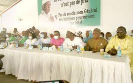 Conakry :les responsables du PUP inaugurent le siège rénové du parti