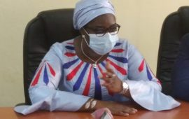 Guinée : La Ministre Bountouraby Yattara félicitée et encouragée par la population de Dubreka