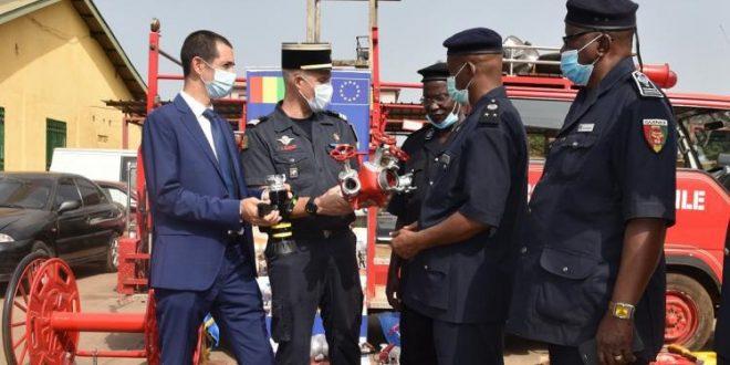 Guinée Conakry : Don européen aux services de protection civile