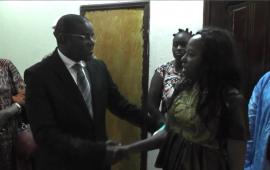 Catastrophe survenue en Sierra Leone: El Hadj Mohamed Habib Hann adresse les condoléances  du Bureau exécutif du CNP-Guinée à l'Ambassadeur  de la Sierra Leone en Guinée Pour exprimer sa compassion